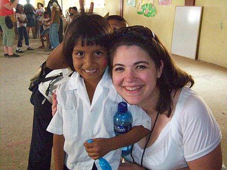 With Alba in Honduras